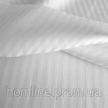Пододеяльник Lotus Сатин Отель Страйп 1*1 белый Турция 200*220