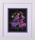 Набір для вишивання хрестом Panna BN-5001 Квіти фуксії, фото 2