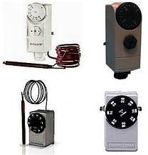 Термостаты капиллярные, погружные и ДАТЧИКИ температуры