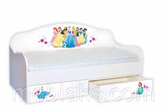 """Кровать Диванчик """"Принцессы"""" Mebelkon"""