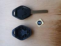 Корпус авто ключа под чип для BMW Е46, Е53, Е60, Х3, Х5 (бмв) лезвие HU 92 ромб