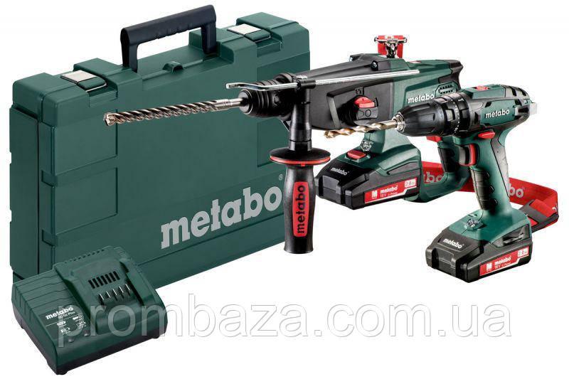 Комплект Metabo Combo Set 2.3.4 18 V