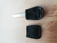 Корпус авто ключа для BMW E46 (БМВ) 3 кнопки, лезвие HU 92 гитара