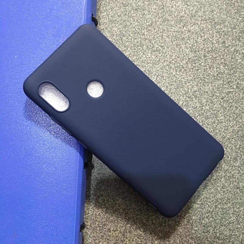 Чехол Style для Xiaomi Redmi Note 5 Pro / Note 5 Global бампер матовый Blue