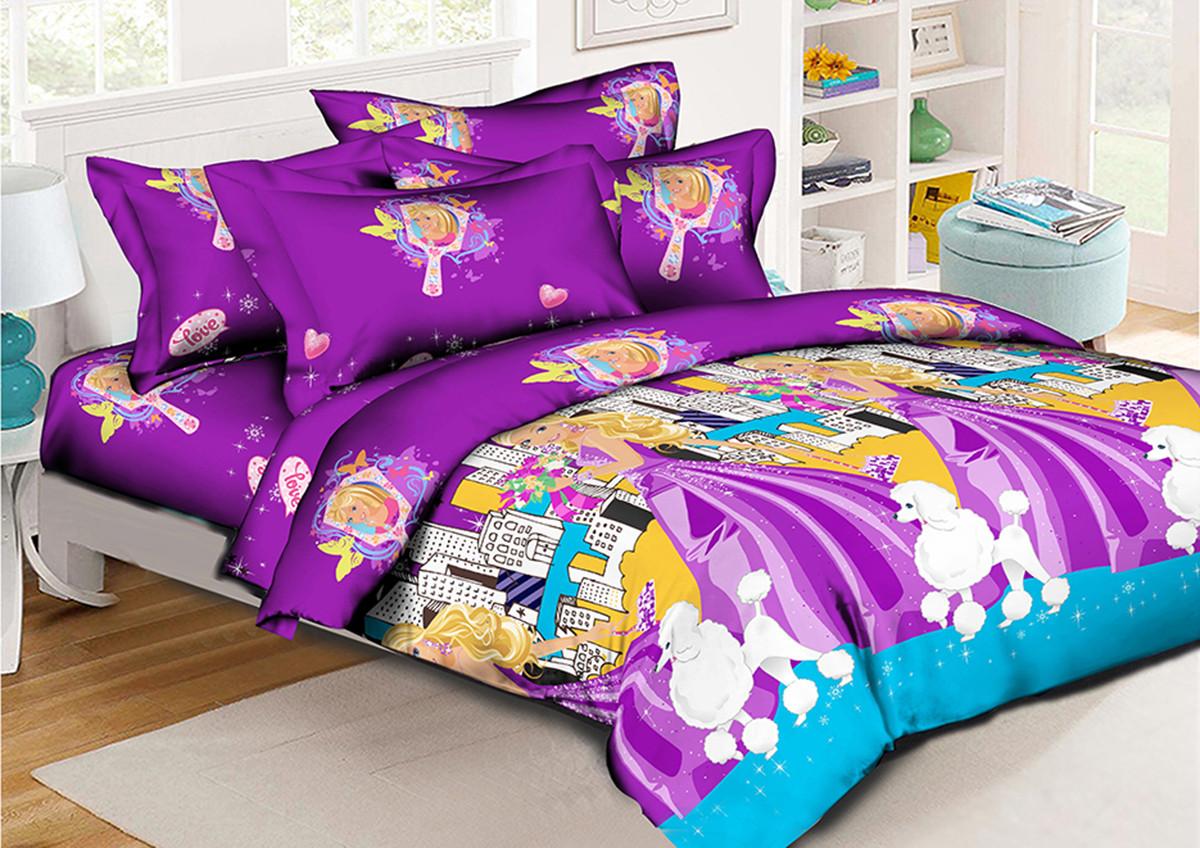 Детский комплект постельного белья 150*220 хлопок (9964) TM KRISPOL Украина