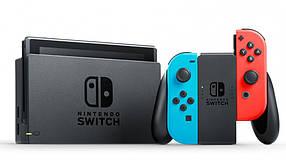 Nintendo Switch (прошитая SX OS, 128GB MicroSD card с играми)
