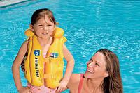 Детский надувной жилет Intex 58660 от 3 до 6 лет