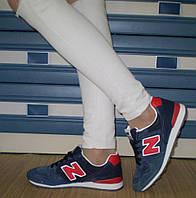 Фирменные женские кроссовки New Balance, натуральная замша!, фото 1