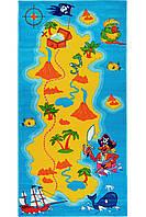 Детский ковер пиратский остров