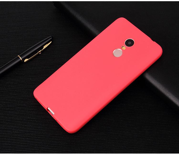 "Чехол Style для Xiaomi Redmi 5 Plus (5.99"") бампер матовый Red"