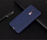 "Чехол Style для Xiaomi Redmi 5 Plus (5.99"") бампер матовый Blue"