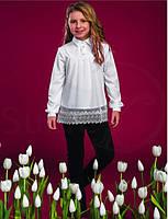 Блуза школьная нарядная на девочку Джордани Suzie Размеры 122- 140