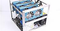 Оборудование для майнинга криптовалют на 4 видеокарты RX 580