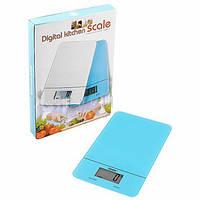 Весы кухонные SC-166 до 5 кг (стеклянная  поверхность)