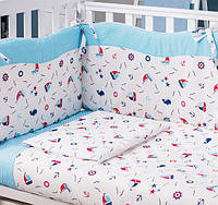 """Комплект постельного белья  для новорожденных 6 ед  """"Maritime"""" Верес™, фото 1"""