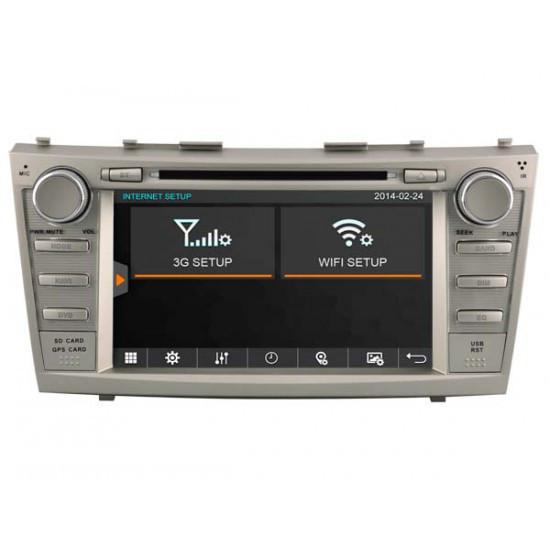 Штатная магнитола Marshal M770 ANDROID GPS/DVD/WI-FI для Toyota Camry V40 2006-2011- 8 дюймов