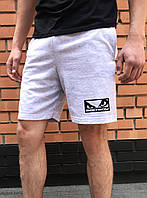 Серые шорты мужские BadBoy летние