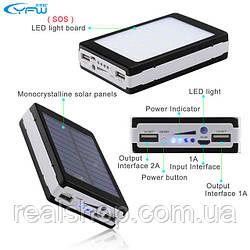 PowerBank на солнечных батареях 12000mAh Solar Xtra Power Bank УМБ
