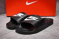 Шлепанцы женские Nike FlipFlops, черные (13612),  [   36 37 38 39 40  ] (реплика)