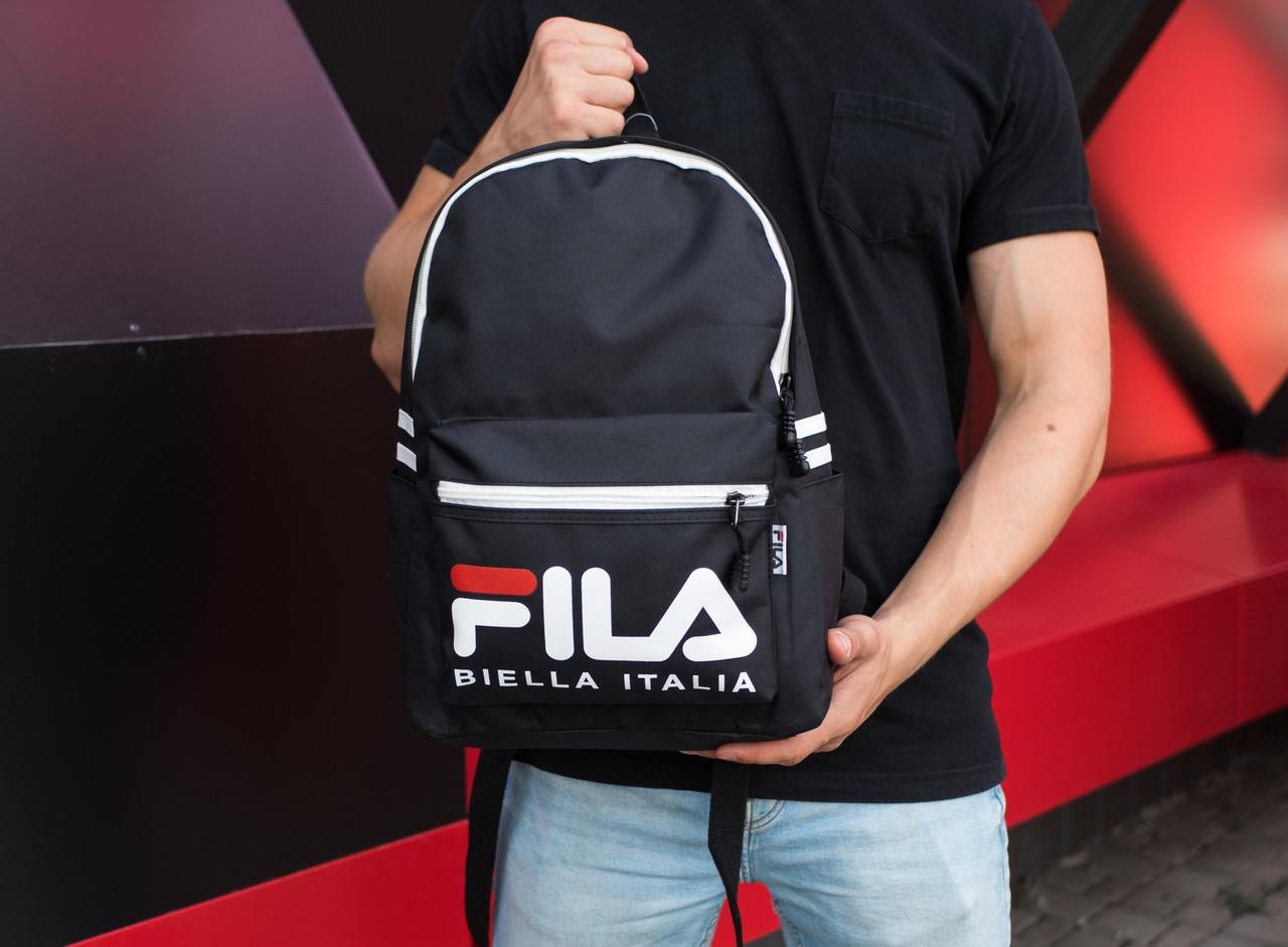 1a6991b47e8b Рюкзак FILA Biella Italia Черный (Реплика): продажа, цена в Киеве ...