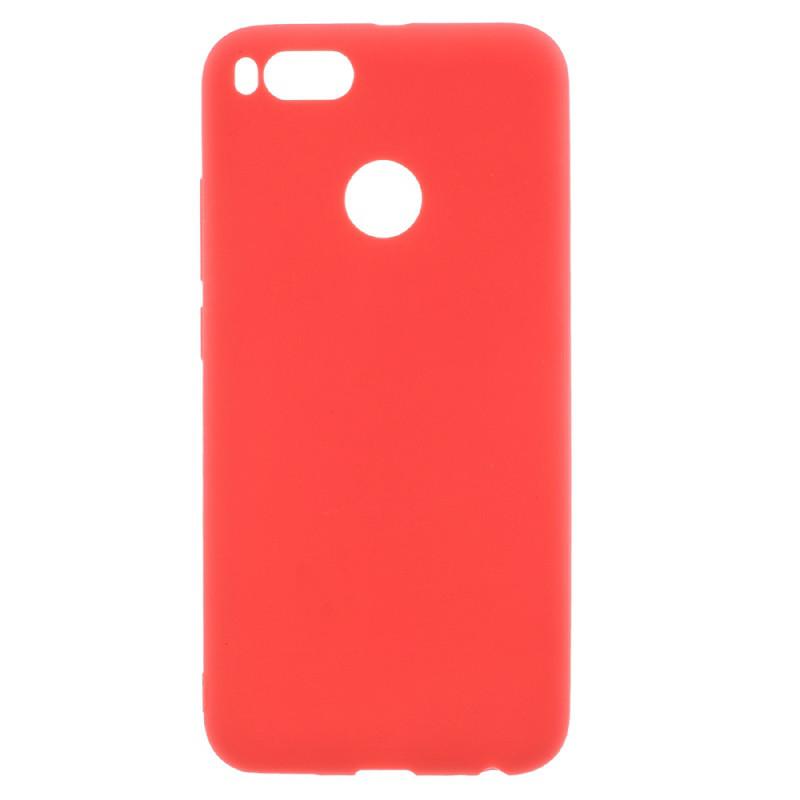 Чехол Style для Xiaomi Mi A1 / Mi5X бампер матовый Red