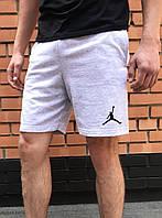 Серые спортивные шорты Джордан / Jordan мужские
