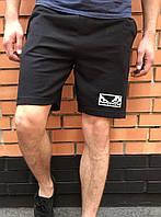 Черные шорты мужские Бедбой / Badboy летние спортивные