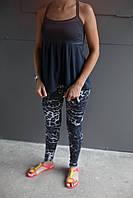 Майка женская Adidas.Сетка,черная