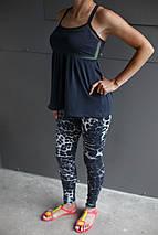Майка женская Adidas.Сетка,черная, фото 2