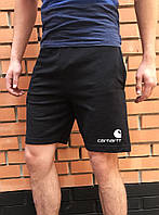 Летние черные шорты кархарт / спортивные мужские Carhartt