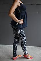 Майка женская Adidas.Сетка,черная, фото 3