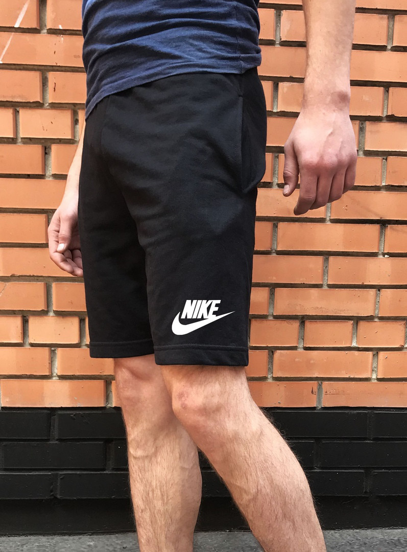 d7c6b108 Шорты черные Nike / найк летние мужские реплика: продажа, цена в ...