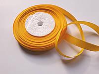 Стрічка репсова 13мм ( 22 метри в рулоні) жовто-гаряча