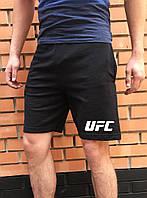 Спортивные черные шорты UFC  мужские
