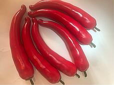 Искусственный овощ перец чили красный.Муляж перца., фото 3