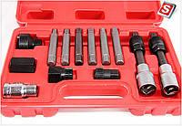 Набор для снятия шкивов генераторов 13ед. VERDA SN401
