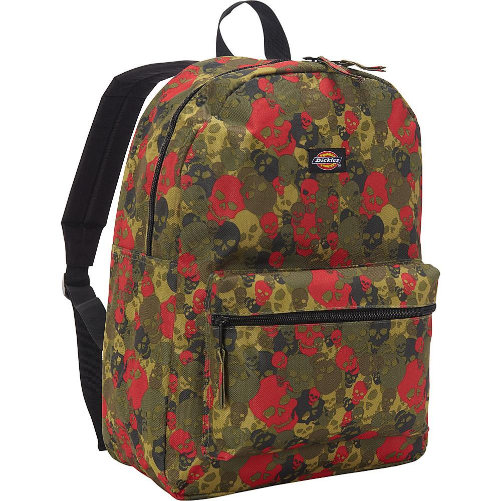 Рюкзак Dickies Recess Backpack (Green/Red Skull Camo Pile)