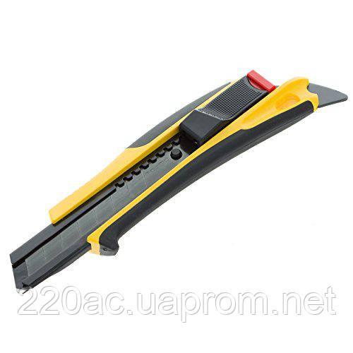 Нож профессиональный для сегментных лезвий 18мм с автовозвратом лезвия TAJIMA Quick Back DFC569