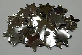 Конфетті зірки СРІБЛО. Упаковка 100 грам