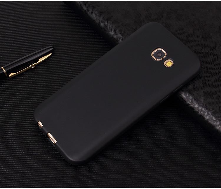 Чехол Style для Samsung A7 2016 A710 A710H бампер матовый Black