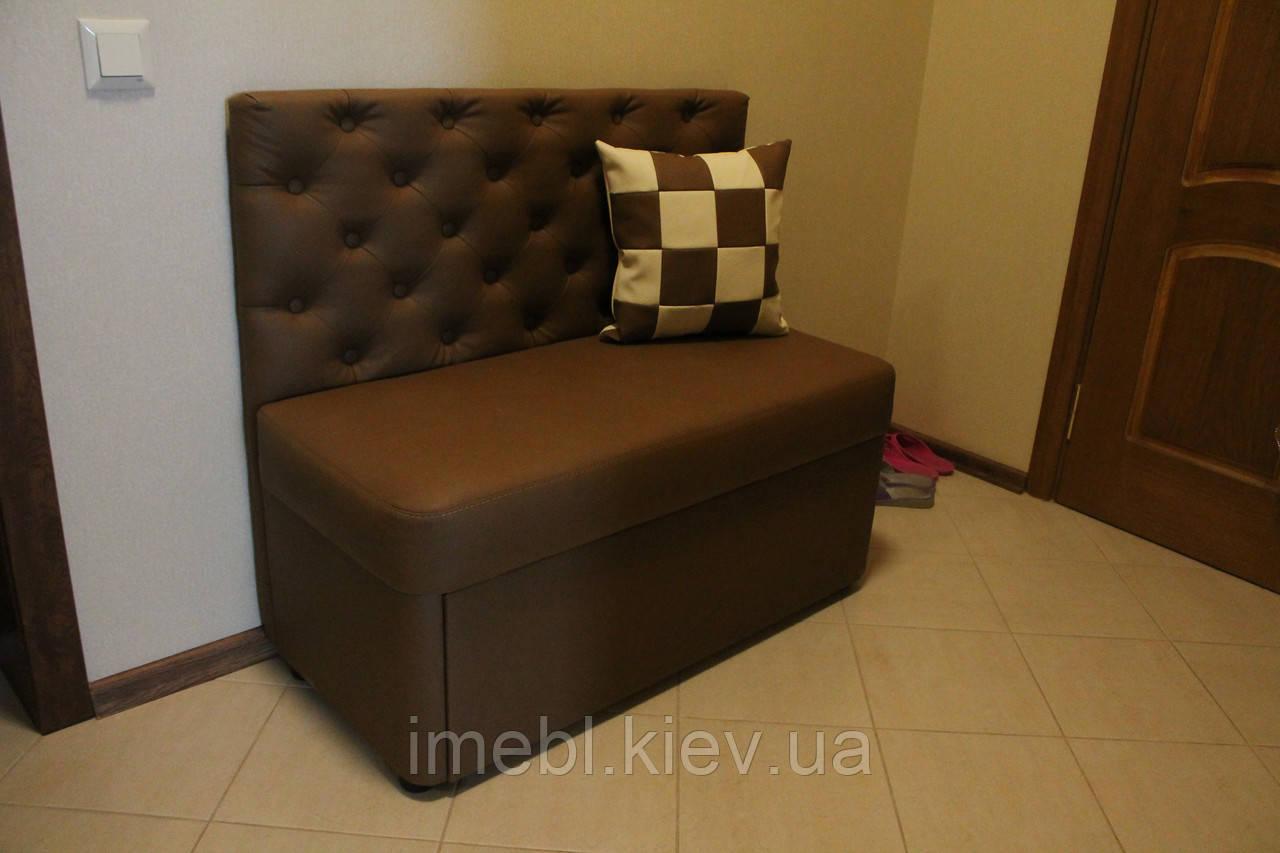 маленький диванчик в прихожую коричневый цена 5 200 грн купить