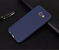 Чехол Style для Samsung A7 2016 A710 A710H бампер матовый Blue