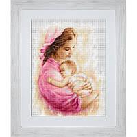Набор для вышивки крестом Мать и дитя