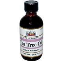 Масло чайного дерева 100%чистое 60 мл лечение грибковых, бактериальных заболеваний кожи слизистых 21-й векUSA