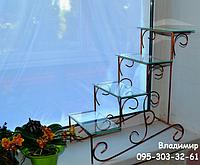 Сенполия-2, подставка для цветов на 4 полки, фото 1