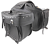 Кофр-сумка Atrox APT NF-9019 кожаная боковая