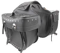 Кофр-сумка Atrox APT NF-9019 кожаная боковая, фото 1