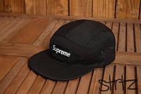 Стильная кепка пятиклинка Supreme