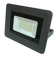 Светодиодный прожектор 30вт, Biom SMD-30-Slim 6500K Deep Grey IP65 , фото 1