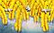 """Фотообои """"Жёлтые перья"""", фото 2"""